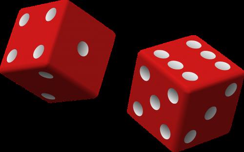 kauliukai,raudona,du,žaidimas,valcavimo,tikimybė,sėkmė,azartiniai lošimai,laimėti,kazino,žaisti,jackpota,vegas,žaidimų,šansai,atsitiktinai,mesti,išmesti,nemokama vektorinė grafika