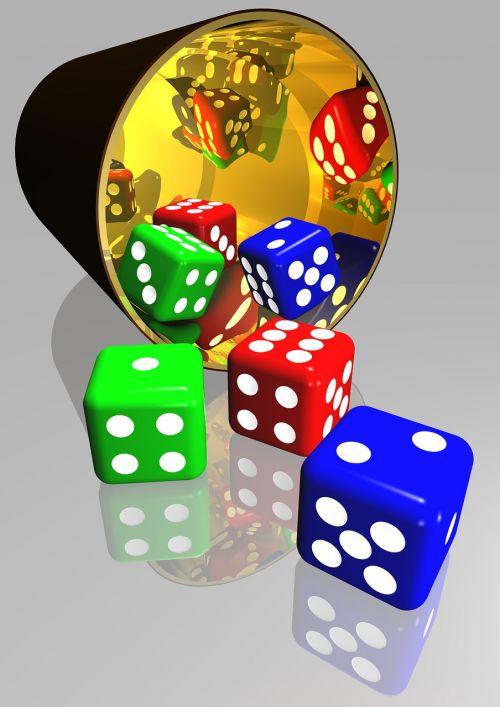 kauliukai,žaidimų,žaisti,sėkmė,tikimybė,lošti,rizika,laimėti,lažybos