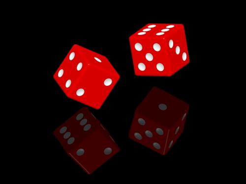 kauliukai,azartiniai lošimai,tikimybė,kubas,raudona,kritimas,atsitiktinai,sėkmė,žaidimas,laimingas skaičius,žaisti,taškai,pokeris,kazino,craps,vegas,mesti,atspindys,žaidimų,šaudyti,tikimybė