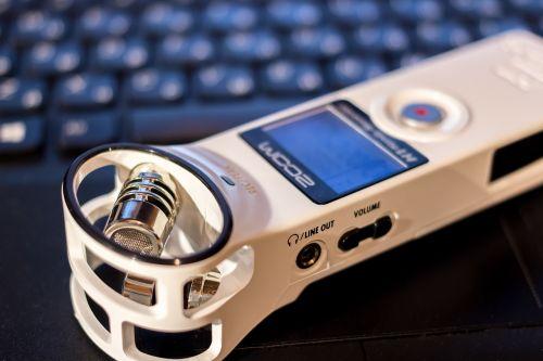 diktofonas,mikrofonas,nešiojamas,balta,įrašymas,priartinti h1,priartinti,garsas,stereo,usb mikrofonas,kišenė