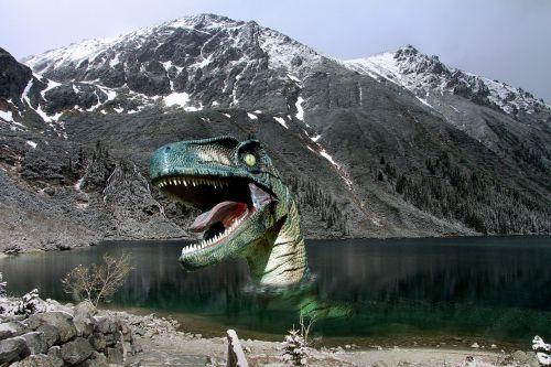 dinozauras,ežeras,priešistorė,mėsėdis,pagirios,baimė,dantys,mėsėdis dinozaurai,galingas,dangus,pierre,galia,milžinas,kalnas,nuotrauka