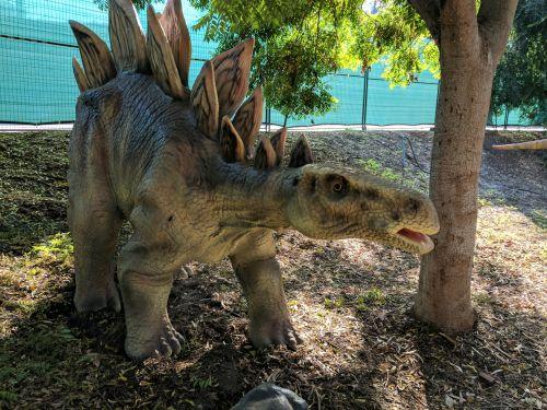 dinozauras, dinozaurai, jurassic, jurų & nbsp, parkas, stegosauras, dinozauras stegozuras