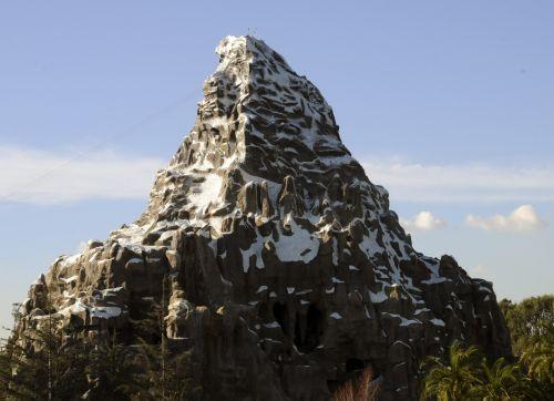 Disneilendas, anaheim, magija & nbsp, karalystė, kalnas, matterhorn, Kalifornija, disneylandas matterhorn kalnas