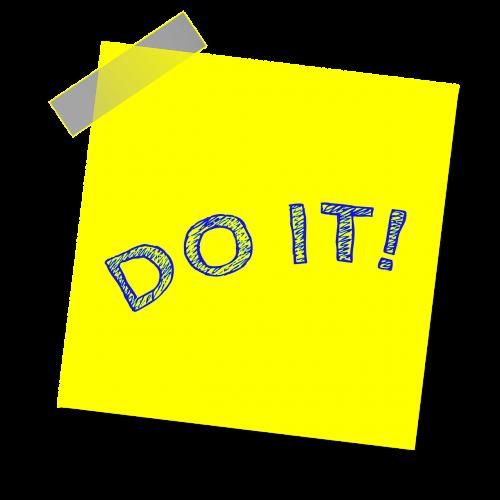 daryk,pastaba,priminimas,rašyti pastabą,lipdukas,lipnus popierius,motyvacija,geltona pastaba,lipnus,įkvepiantis