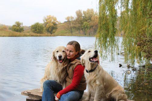 šuo, gamta, vanduo, Draugystė, be honoraro mokesčio