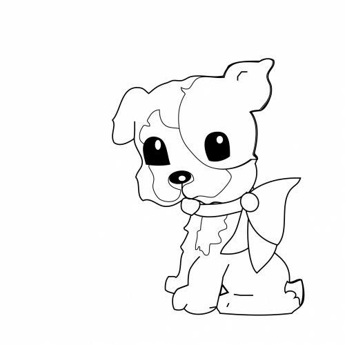 šuo, šuniukas, mielas, vaikai, dažymas, puslapis, dažymas & nbsp, puslapis, kontūrai, gyvūnas, Scrapbooking, Laisvas, viešasis & nbsp, domenas, šunų dažymo puslapis vaikams