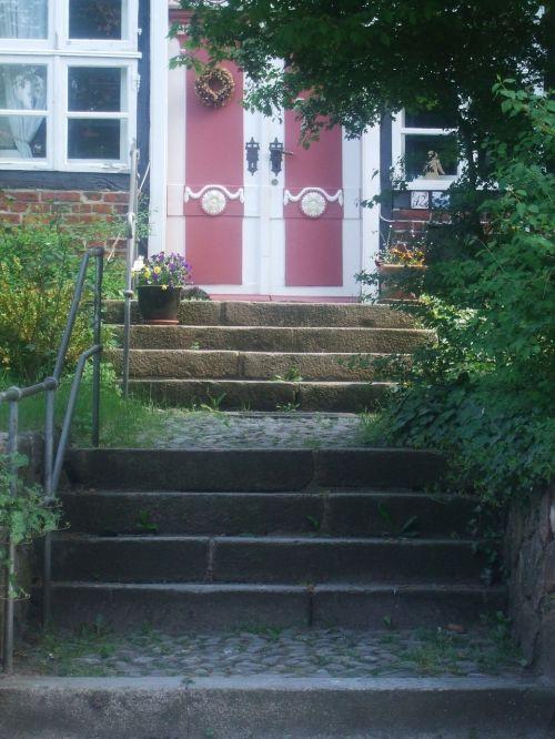 durys,laiptai,palaipsniui,įvestis