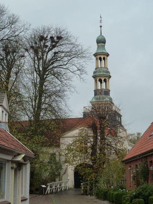 Dornum, Rytinė Frisia, Vokietija, Bažnyčia, Šiaurinė Vokietija