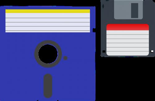 Dos, Diskas, Floppy, Informacija, Vidutinė, Nemokama Vektorinė Grafika