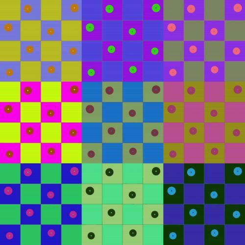 taškai, dotted, šaškių lentelė, Warhol, stilius, aikštės, smaragdas, punktyrinė šaškių lentelė