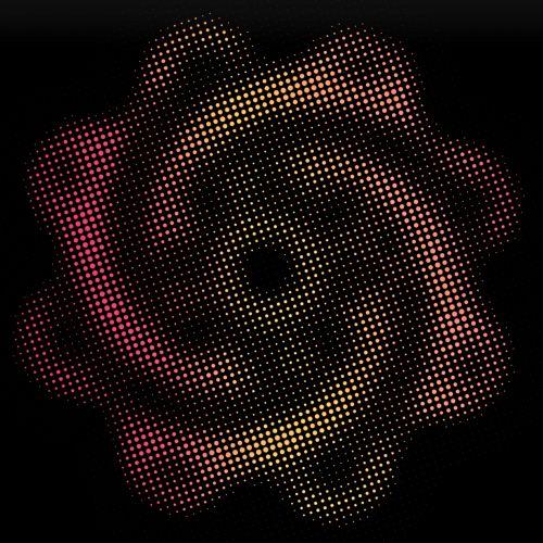 taškai, gėlė, figūra, tapetai, fonas, juoda, menas, simbolis, spiralė, punktyrinė gėlė