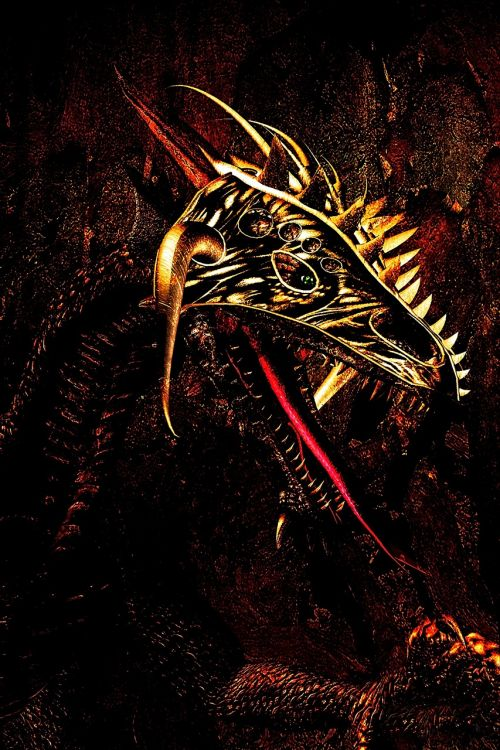 drakonas,galva,mitas,legenda,3d,padengti,pyktis