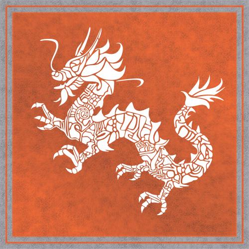 drakonas,kinai,fonas,kinų drakonas,vintage,senas,dizainas,raudona,gentis,formos,tatuiruotė,emblema,viduramžių,vėliava,herbas,simbolis,rytus,asija,oranžinė
