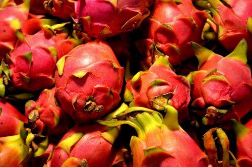 drakonas & nbsp, vaisiai, vaisiai, maistas, pitaya, pitahaya, atogrąžų, Drakono vaisius