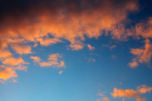 oras, atmosfera, fonas, mėlynas, saulėlydis, klimatas, debesis, cloudscape, vakaras, laisvė, dangus, gamta, modelis, dangus, dramatiškas, oras, raudona, dramatiškas saulėlydžio dangus
