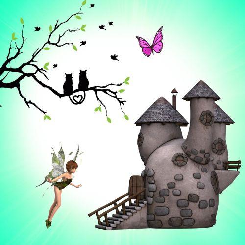 svajonė,vaizduotė,conte,trasa,istorija,fėja,namas,pasaulis,istorija,fikcija,vaikų istorija,filialai,juoda katė,katė,juoda širdis
