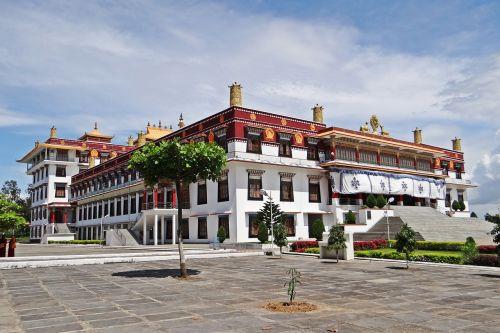 drepung gomang vienuolynas,mundgod,Tibeto gyvenvietė,budizmas,Karnataka,Indija,religinis,mini tibetas