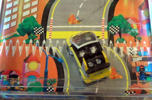automobilis, vairuoti, vairuoja, žaidimas, arcade, verslas, vaikai, kelias, trasa, vairuoti
