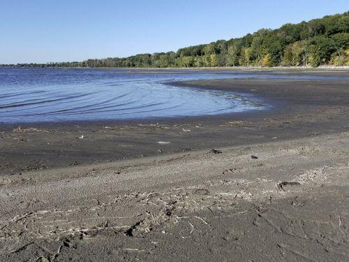 ežeras, smėlis, papludimys, ežeras, sausra, visuotinis & nbsp, atšilimas, kraštovaizdis, Sausra ežeras