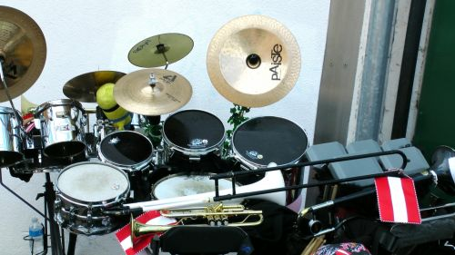 muzikiniai & nbsp, instrumentai, smūgis, būgnas, būgnai, rinkinys, perkusija, muzikinis & nbsp, instrumentas, Žalvaris, bronzos & nbsp, juosta, bronzos & nbsp, juostos, muzikantas, muzikinis, muzikantai, būgno komplektas perkusija