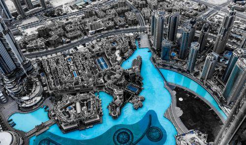 dubai,panorama,miestas,architektūra,dangoraižiai,Dubajus,didelis miestas,šiuolaikiška,dangoraižis,biurų pastatas,ilga ekspozicija,poveikis,centro,diena,vaizdas,Burj Khalifa,Burj,khalifa,didelis,ežeras,vandens funkcija,fontanas,tvenkinys,dirbtinis,vanduo,turizmas,didelis,dekadentas,imperija,nobel