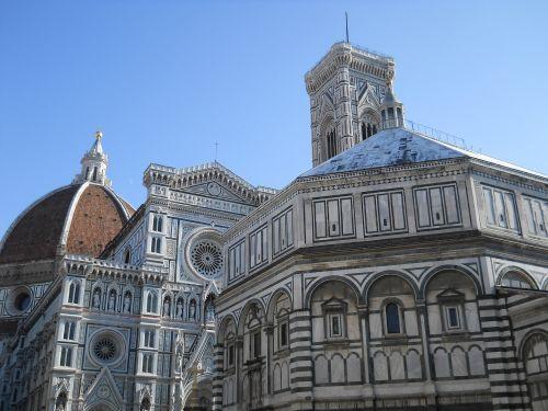 Florencija, katedra ir baptisterio florencija