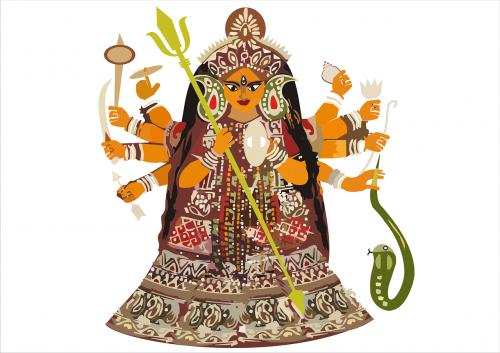 durga, bengalų, Kolkata, hindu, puja, Indija, deivė, Navratri, dashami, vijayadashami, kultūrinis, bijoja, subho, ritualas, atsidavimas, šventas, laimingas, šventė, tradicinis, dussehra, šventė, be honoraro mokesčio