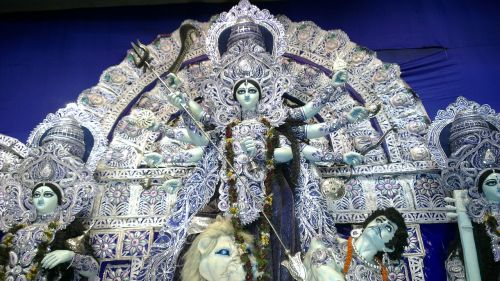 durga, Kolkata, Calcutta, šventas, dievas, puja, durga puja, garbinimas, hinduizmas, hindu