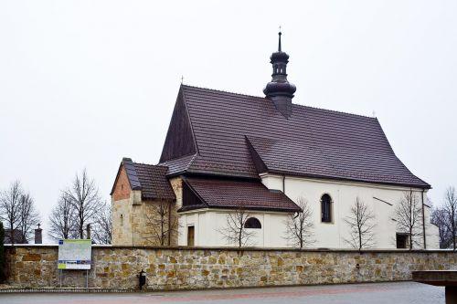 dziekanowice,bažnyčia,romantika