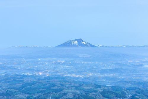 ankstus rytas,prieš saulei patekant,Alpinizmas,nakties žygis,Japonija,iwate,šviesa,naktinis vaizdas,rūkas,debesis,ryto rūko,kalnas