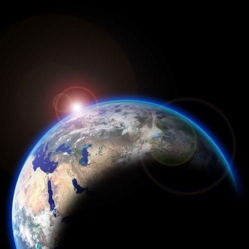 Žemė, Erdvė, Saulė, Planetos, Astronautika, Dangus, Naktis, Orbita, Saulės Sistema