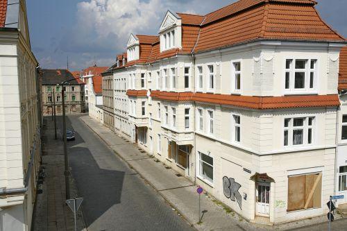 Rytinė Vokietija, Namas, Architektūra, Vokietija, Fasadas, Gatvė, Langas