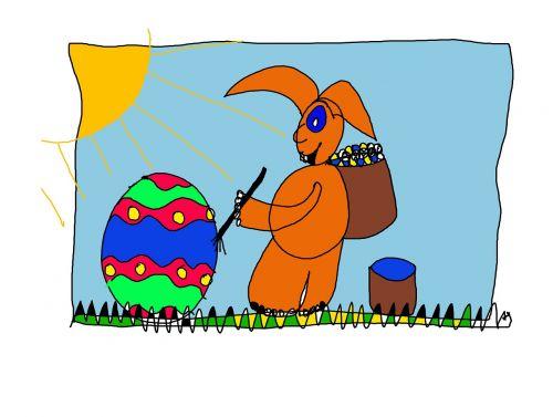 Velyku Triusis,Velykos,Velykų kiaušiniai,kiaušinis,kiškis,vaikai,naivus,vaikų piešimas,Velykos šventė,ornamentas,rankomis dažytos,spalvinga,Velykos tema,Velykinis dekoras,pavasaris,dažyti,dažymas,menas,spalva