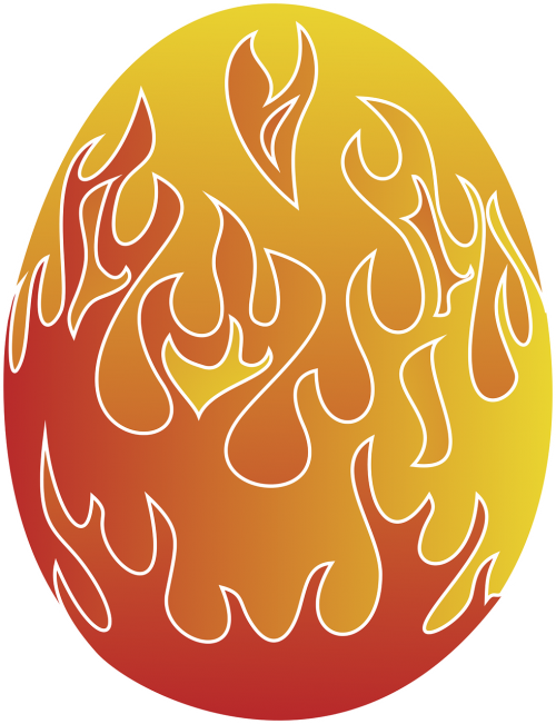 Velykinis kiaušinis,liepsna,kiaušinis,Velykos,dažytas kiaušinis,spalvotas kiaušinis,nemokama vektorinė grafika
