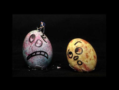 Velykų kiaušiniai,kiaušinis,Velykos,maži žmonės,maži žmonės