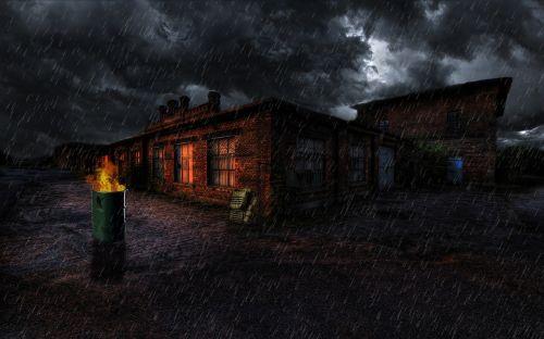 lengva,tamsa,griuvėsiai,šviesa,Ugnis,naktis,gylis,Postapokalipsis,apokalipsė,persekiotojas