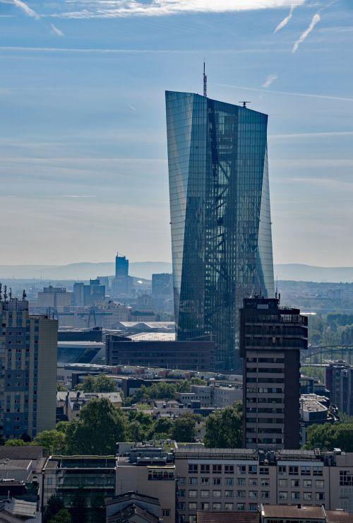 ecb,Europos centrinis bankas,Frankfurtas,Hesse,Vokietija,dangoraižis,bankas,centrinis bankas,Europa,ostend