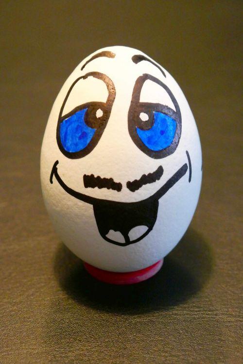 kiaušinis,pusryčių kiaušinis,virtas kiaušinis,maistas,dažytos,veidas,juokinga,apgaulė