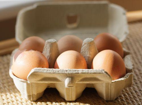 kiaušiniai, kiaušinis, šeši, dėžė, dėžutė, kiaušinis & nbsp, dėžutė, kiaušinių & nbsp, dėžutė, lukštas, sunaikintas, maistas, pieno, produktas, ruda, Laisvas, viešasis & nbsp, domenas, kiaušiniai makro