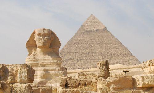 Egiptas,piramidė,Sfinksas