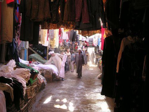 Egiptas,luxor,turgus,souque,prekyba