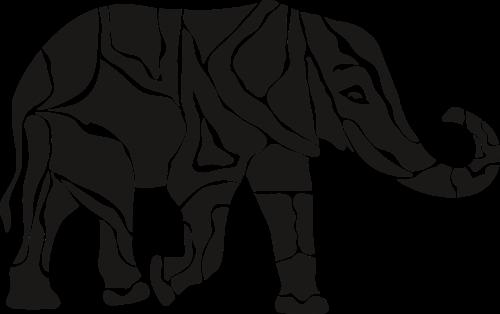 dramblys,gyvūnas,proboscis,afrika,didelis žinduolis,gamta,Savanna,fang,nėra fono,juoda,tatuiruotė,žinduolis,fauna,nemokama vektorinė grafika