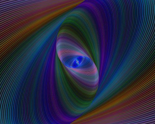 elipsė, fraktalas, sukurtas kompiuteriu, skaitmeninis, meno kūriniai, dizainas, grafika, spalva, spalvinga, futuristinis, kūrybingas, menas, stebuklinga, judėjimas, spalvoti