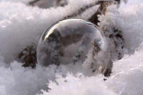 įterpta seifenblase,įterptas,sniegas,šaltis,sušaldyta,žiemos magija,žiema
