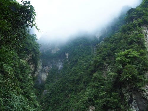 emeishan,žalias,kraštovaizdis,debesis