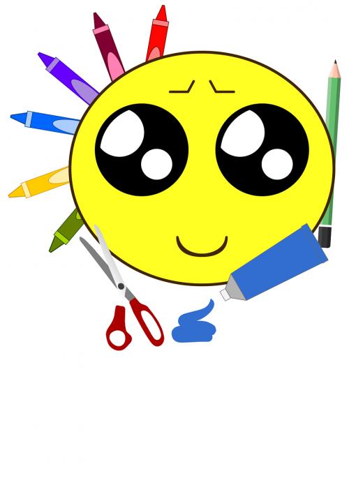 šypsenėlė,Diy,Pasidaryk pats,amatai,menas,nemokama vektorinė grafika