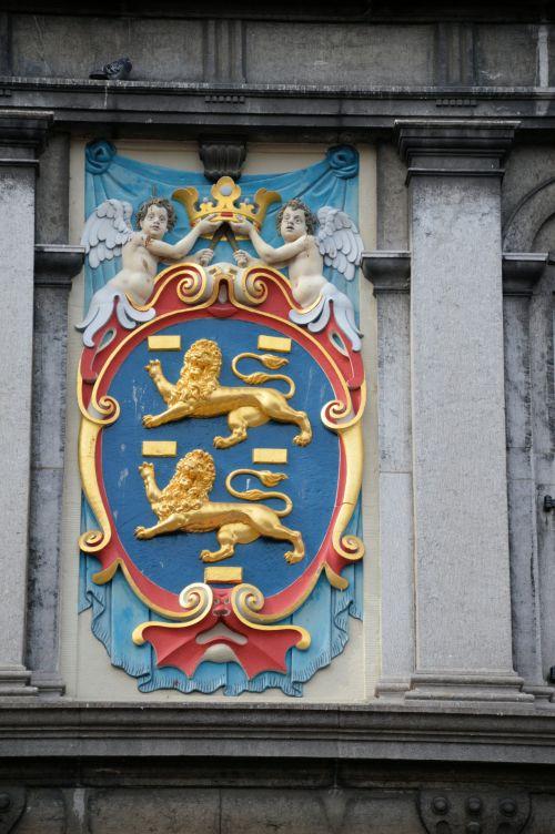 ginklas, plekšnė, kalnas, kultūra, holland, angelai, liūtys, angelai ir liūtai