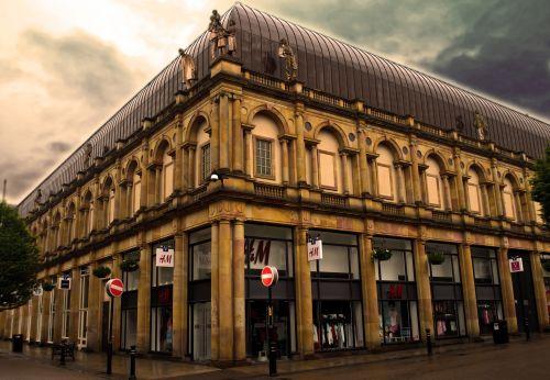 Anglija, architektūra, Šiaurė, Jorkšyras, pastatas, nuosavybė, angliška architektūra