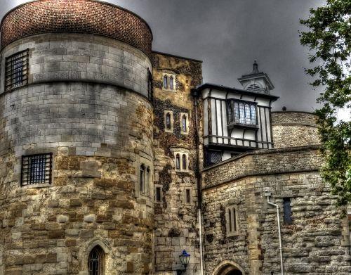 Londonas, senovės, architektūra, pilis, Anglija, Europa, europinė & nbsp, architektūra, angliška architektūra