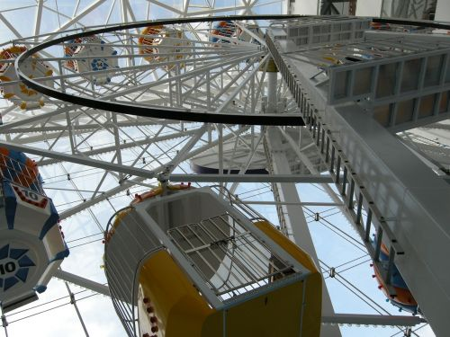 pramogos,Ferris ratas,linksma,pramogos,parkas,karnavalas,važiuoti